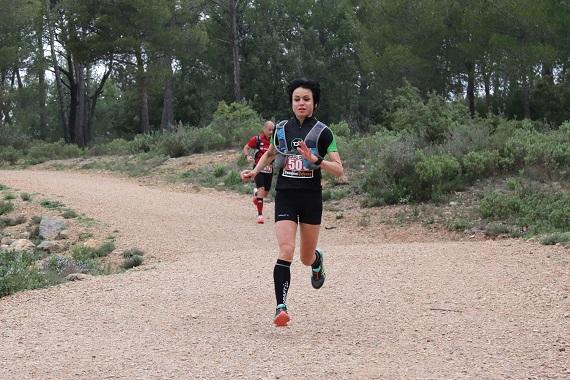 570-1 Botella Pascale première du 36 km Sainte Victoire 2016 photo organisation