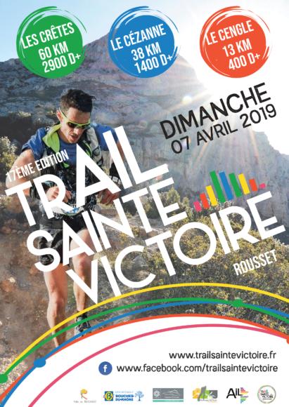 Affiche officielle du Trail Sainte Victoire 2019