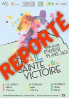Trail Sainte Victoire 2020 et Coronavirus: Décision