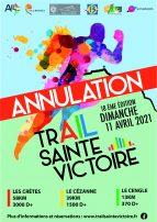 ANNULATION DU TRAIL SAINTE VICTOIRE 2021